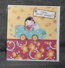 "BN - GREETINGS CARD - ""YIPPEE...YOU'VE PASSED!!"" - MADE BY HOTCHPOTCH"