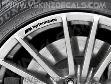 BMW M Performance Logo Premium Rad Felge Abziehbilder Aufkleber Kit Alpina M3 M4