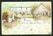 German Colonies Africa Exhibition Exposition stamp 1896
