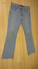 LEVIS 515 Nouveau Boot Cut Stretch Light Blue Denim Jeans Womens Size 12 Medium