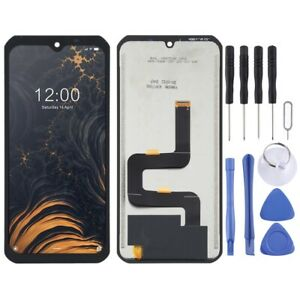 BLACK LCD Panel Screen Digitizer Full Complete For Doogee S88 Pro