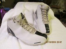 "VERY RARE! ""STARBURY TEAM"" MEN'S LEATHER BASKETBALL SHOES WHITE/BLUE SZ 12"