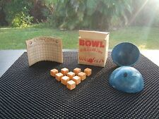 H.H.G. GAME CO. TEN PIN DICE BOWL ONLY TOY THAT THE COMPANY MADE!