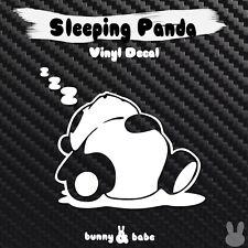 Sleeping Panda Vinyl Decal JDM Sticker for Car Truck Window Die Cut