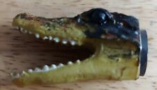New Alligator Crocodile Skull - Croc or Gator Head Shaped Fridge Freezer Magnet