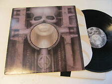 EMERSON LAKE & PALMER BRAIN SALAD SURGERY '73 LP hr giger h.r. oop vinyl sd19124