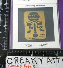 Baby Rattle Ribbon Dry Emboss Stencil Embossing Lasting Impression # 778