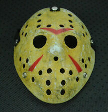 Old Halloween Mask Jason Voorhees Friday The 13th Horror Movie Hockey Mask