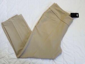 1 NWT ADIDAS WOMEN'S PANTS, SIZE: LARGE, COLOR: KHAKI (J117)