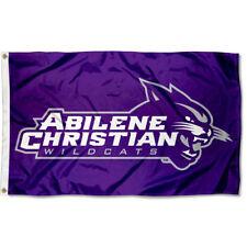 Abilene Christian Wildcats Wordmark Flag Large 3x5