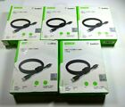 USB-C to USB-C Cable Braided Black w/ strap - (5 PACK) BELKIN - FAST US SHIPPING