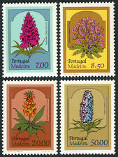 Portugal Madeira 77-80, MNH. Local Flora, 1981