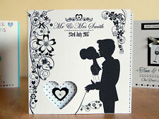 Wedding Card Personalised card Special Mr Mrs wedding luxury wedding cards