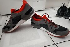 MENS ASICS GEL LYTE TRAINERS. GREY RED. SIZE UK 10. EUR 44.