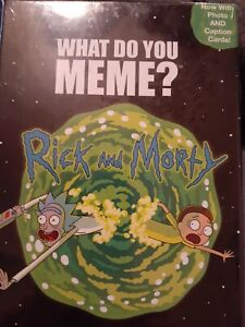 WHAT DO YOU MEME? Rick and Morty Expansion Pack NEW