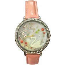 Orologio MINI WATCH 3D ref. MN1041A Donna cassa acciaio con strass pelle rosa