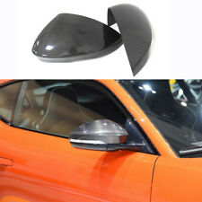 Real Carbon Fiber Mirror Cap For Jaguar F Type 2013-2016 Add On DN