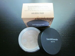 bare Minerals MATTE Foundation * GOLDEN FAIR W10 * Full Size 6g ~ NEW & BOXED