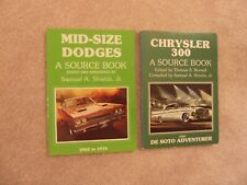 Mid-Size Dodges and Chrysler 300 Desoto Adventurer Source Books Charger Coronet