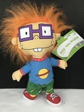 "2018 Viacom Nickelodeon 90's Plush Series 2 Rugrats Chuckie 11"" Plush - NEW!!"