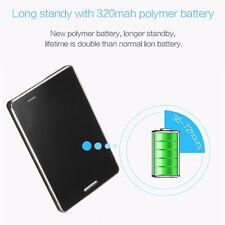 "Simple Girs Boy AIEK M4 Phone Alarm Clock Thin Mini Pocket Card 1.0"" Dual SIM"
