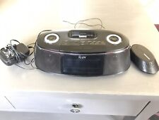iLuv iMM178 Hi-Fi Dual Alarm Clock with Speaker Bed Shaker for iphone/ ipod Dock