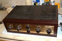 EICO HF-81 VACUUM TUBE STEREO INTEGRATED AMPLIFIER PROSERVICED MATCHED RESISTORS
