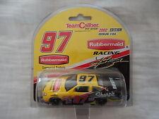 (2) Kurt Busch Autograph 2002 Rubbermaid Racing Team Caliber Cards New & Sealed