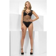 Black Fishnet Body Suit Top Ladies Fancy Dress