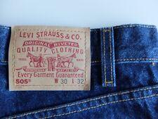 Vintage Levi's 505 denim jeans | W30 L32 | Blue | Regular straight