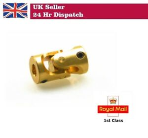 Brass Universal Joint Shaft Coupling Connector RC Model Boat Car 3 x 3mm  3-3mm