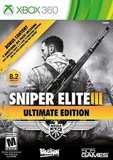*NEW* Sniper Elite III Ultimate Edition - XBOX 360