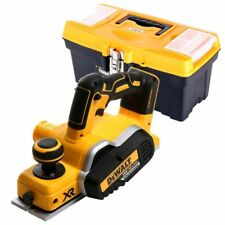 DeWalt DCP580 18V XR Brushless Planer With 16 inch/41cm Tool Storage Box