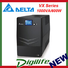 Delta VX Series Line Interactive 1000VA/600W UPS (Tower)