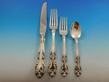 Melrose By Gorham Sterling Silver Dinner Size Place Setting(s) 4pc