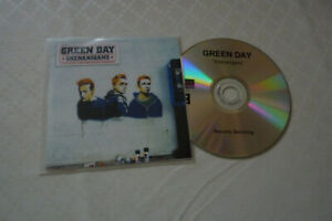 "GREEN DAY  ""SHENANIGANS"" CD ALBUM PROMO CARDS SLEEVE"