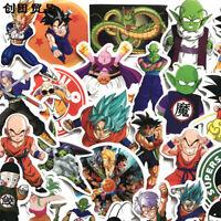 100 Pc Anime Dragon Ball Z Super Saiyan Goku Stickers Decal Sticker funny gift