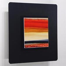 Modern Metal Abstract Hand-Painted Wall Art Accent Decor by Jon Allen OJ 505