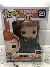 Funko Pop! Conan O'Brien as Woody (Toy Story 4) 29 Team Coco SDCC 2019 Exclusive