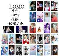 New 30pcs set Kpop GOT7 Mark Personal PhotoCard Picture Poster Lomo Cards