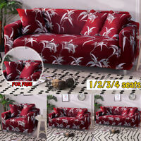 1-4 Sofa Covers Elastic Couch Slipcover Stretch Fabric Protector +  z g
