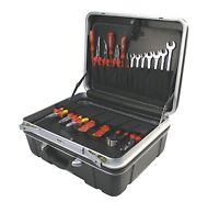 ABS Trolly Trolley Werkzeug Hartschalen Koffer kiste Kasten box Tool case 61180