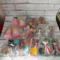 Vintage McDonald's  Barbie Happy Meal Toys 18 piece Lot includes under 3 NEW