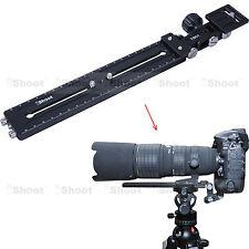 Telezoom Objektiv Halter Neiger Schiene Kameraplatte für Kamera Stativ Kugelkopf