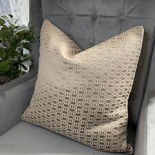 "Luxury Cushion Cover 18"" John Lewis & Partners Nikko Fabric, Pink Natural Decor"