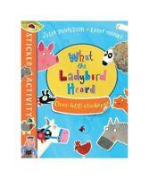 "Julia Donaldson ""The What the Ladybird Heard Sticker Book"""
