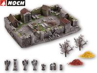 NOCH H0 58585 Gruselfriedhof 19 x 13,5 cm, 9 cm hoch - NEU + OVP