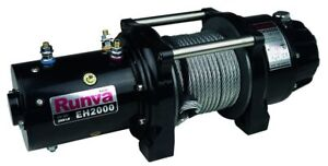 Runva EH2000 12V with Steel Cable Lifting Winch 10877223250