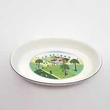 "Villeroy & Boch Design Naif Wedding Procession 13"" Oval Baker"