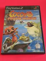🔥 SONY PS2 PlayStation Two 💯 COMPLETE WORKING GAME 🔥COCOTO FISHING MASTER